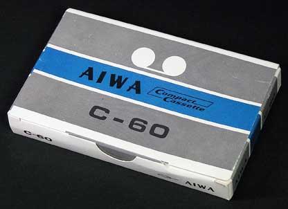 oem他展示館 aiwa compact cassette